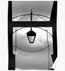 Dark sky, bright light Poster