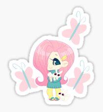 MLP Gijinka Fluttershy Sticker