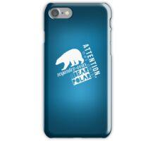 Le Bear Polar iPhone Case/Skin