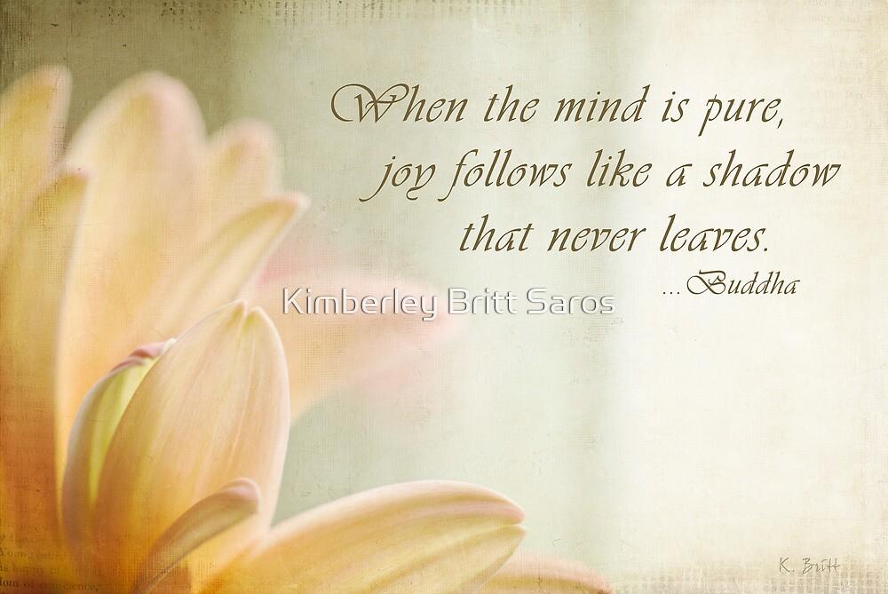 Pure Joy - text by KBritt