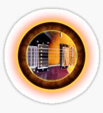 gibson Guitar by rafi talby Sticker