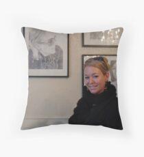 Micheline & Micheline Throw Pillow