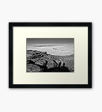 A few hundred million years contemplating twenty seven centuries... Framed Print