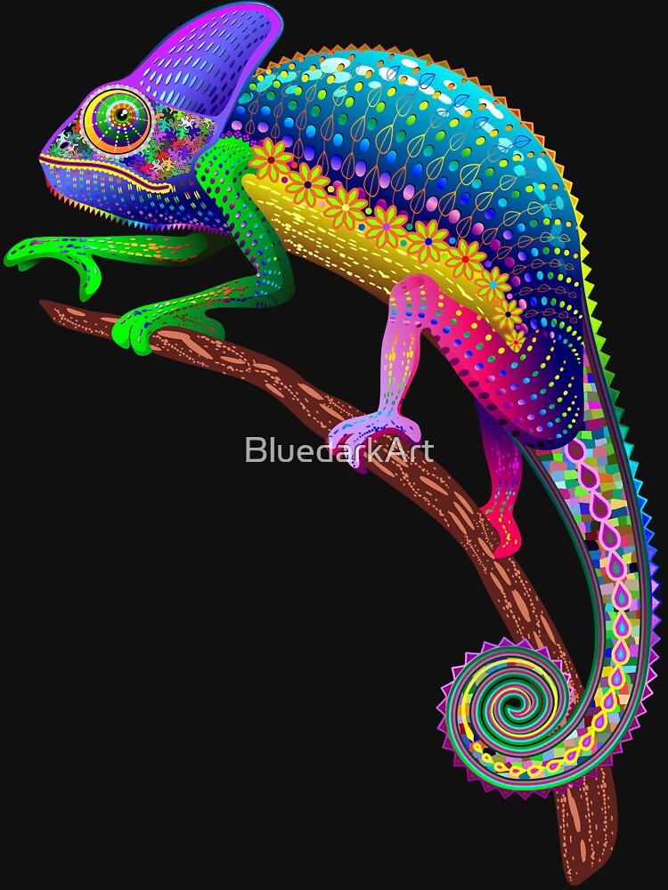 Chameleon Fantasy Rainbow Colors de BluedarkArt