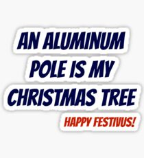 Aluminum Pole Sticker