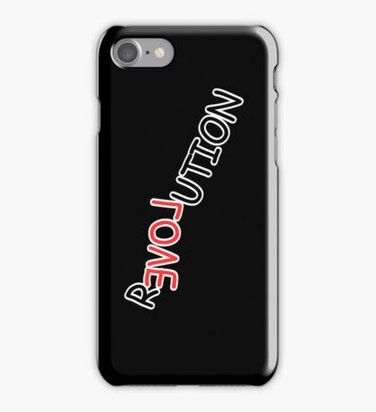Love is the Revolution iPhone Case/Skin