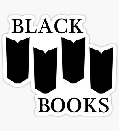 Black Books tshirt Sticker