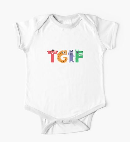 TGIF Monsters Kids Clothes