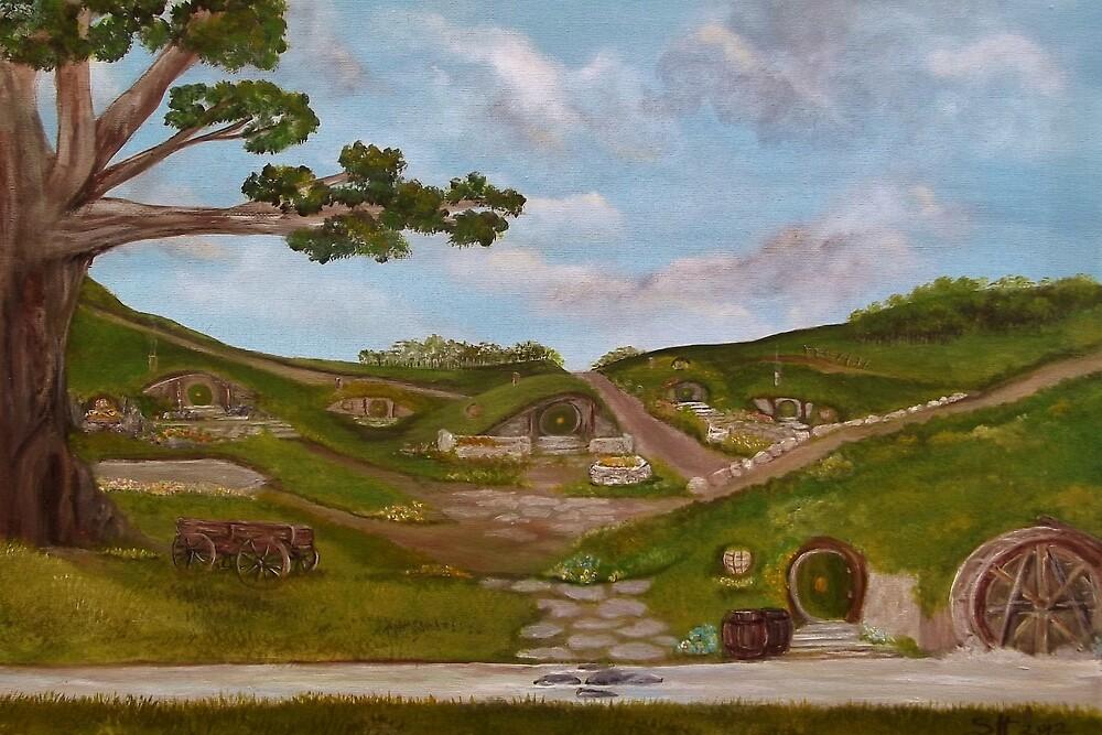 Here be Hobbits... Card by Susie Hawkins