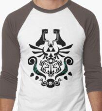 Legend of Zelda (mashup) Men's Baseball ¾ T-Shirt