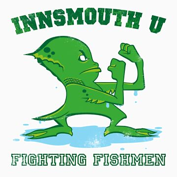 The Fighting Fishmen by andyhunt