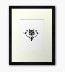 Wolf Design Framed Print