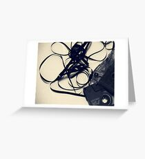 Unwound Greeting Card