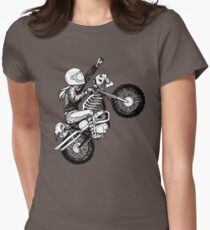 Women Who Ride - Dare Devil Women's Fitted T-Shirt