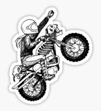 Women Who Ride - Dare Devil Sticker