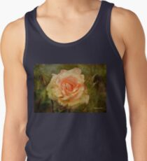 Damaged ~ a Rose with a Message Tank Top