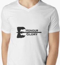Honour & Glory Men's V-Neck T-Shirt
