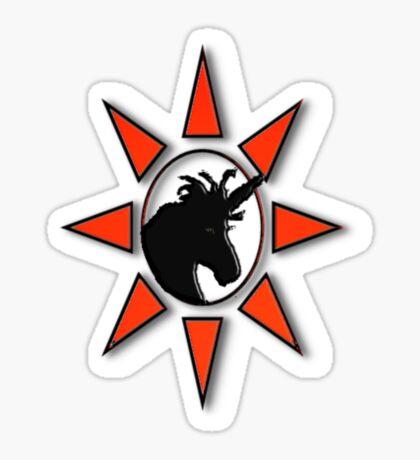 Unicorn Star Sticker