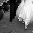 Just Married Shoes  by loyaltyphoto
