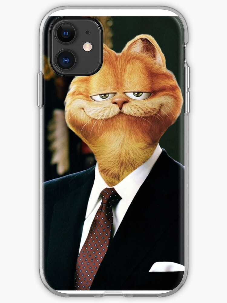 President Garfield Iphone Case Cover By Mrkylematz Redbubble