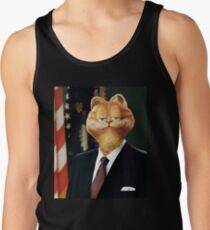Camisetas de tirantes para hombre Presidente Garfield