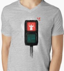 one does not simply jaywalk into mordor Men's V-Neck T-Shirt
