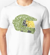 Halo text Art Unisex T-Shirt