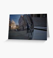 st paul cathedral london  Greeting Card