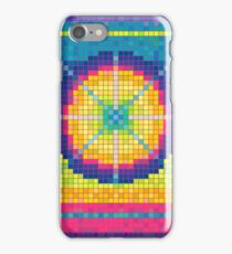Colorful Pixel Art Pattern iPhone 4 Case iPhone Case/Skin