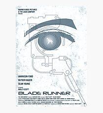 BLADE RUNNER (White-Voight Kampf Test Version) Photographic Print