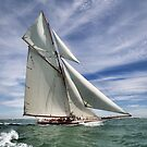 Racing Yacht by John Lines