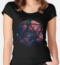 D20 Fairy Dust Women's Fitted Scoop T-Shirt