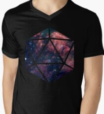 D20 Fairy Dust Men's V-Neck T-Shirt