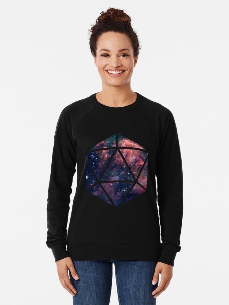 Alternate view of D20 Fairy Dust Lightweight Sweatshirt