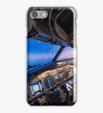 Cockpit overview iPhone Case/Skin