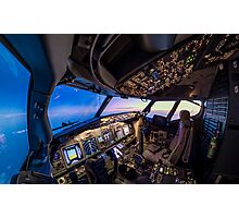 Cockpit overview Photographic Print