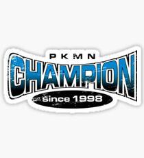 Pokemon Champion_Blue Sticker