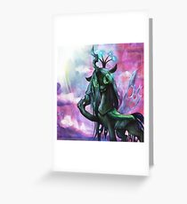 Troubled Chrysalis Greeting Card