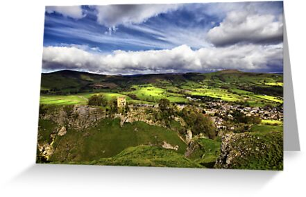 Mam Tor, Peveril Castle, Lose Hill And Castleton by Darren Burroughs
