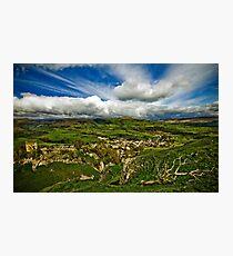 Castleton In The Peak District Photographic Print