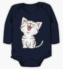 American Shorthair happy One Piece - Long Sleeve