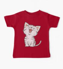 American Shorthair happy Baby Tee