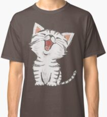American Shorthair happy Classic T-Shirt