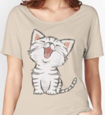 American Shorthair happy Women's Relaxed Fit T-Shirt