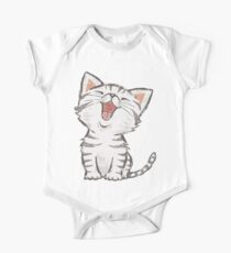 American Shorthair happy One Piece - Short Sleeve