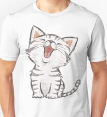 American Shorthair happy Unisex T-Shirt
