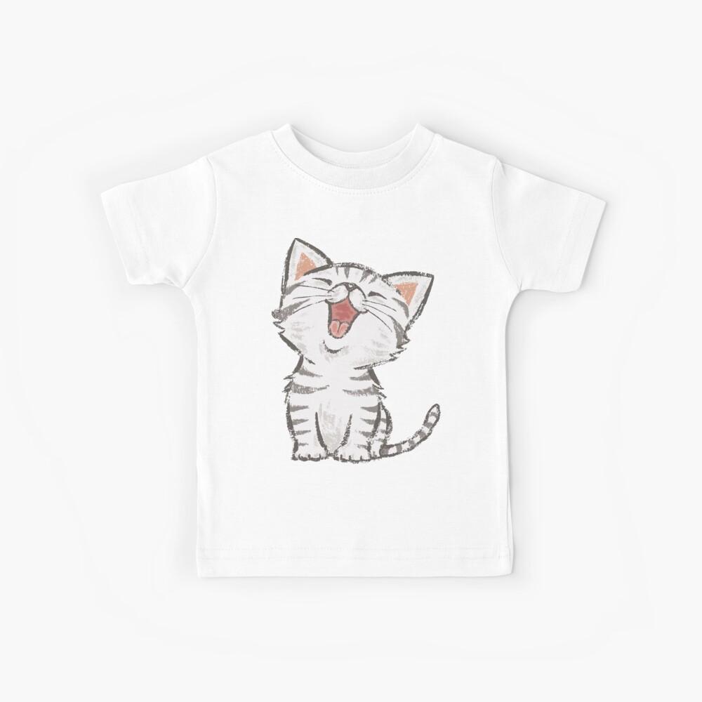 American Shorthair happy Kids T-Shirt