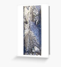 Frost Owl #02 Greeting Card