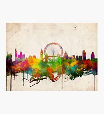 london city skyline 4 Photographic Print