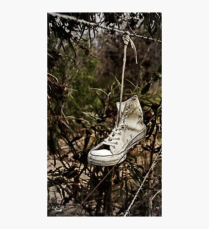 This Old Shoe Photographic Print